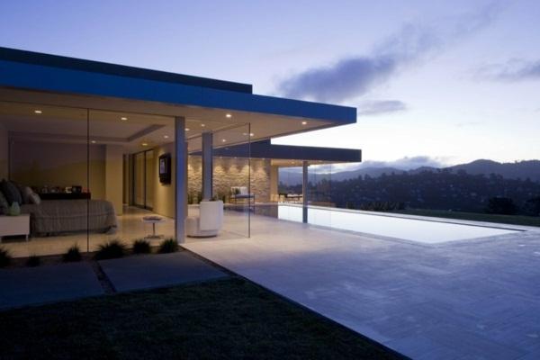 elegant luxury villas with pool