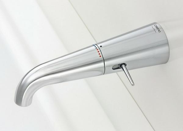 Fittings Stainless steel Faucet bath filler modern optics trends 2014