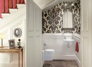 16 beautiful concepts for a modest bathroom