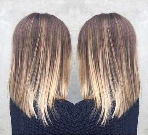 Long Bob Ombre Hair-10