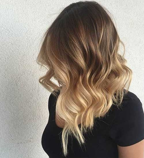 Long Bob Ombre Hair-11