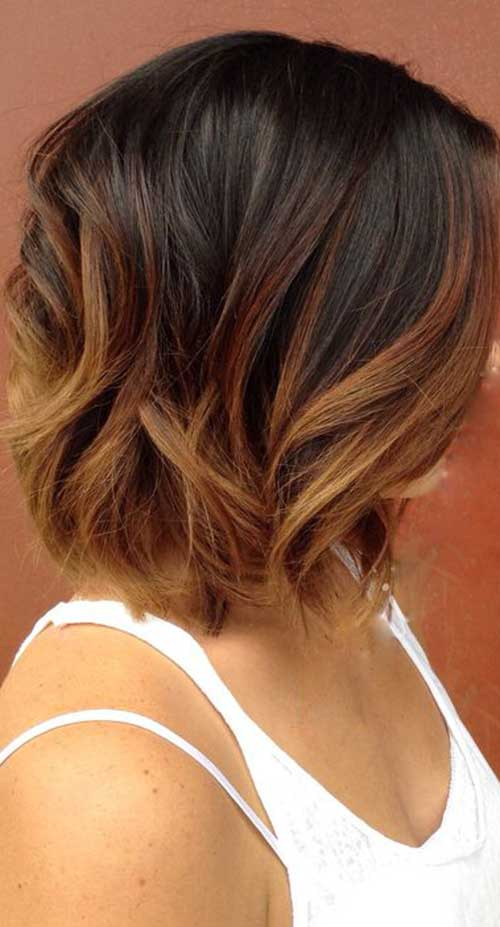 Long Bob Ombre Hair-12