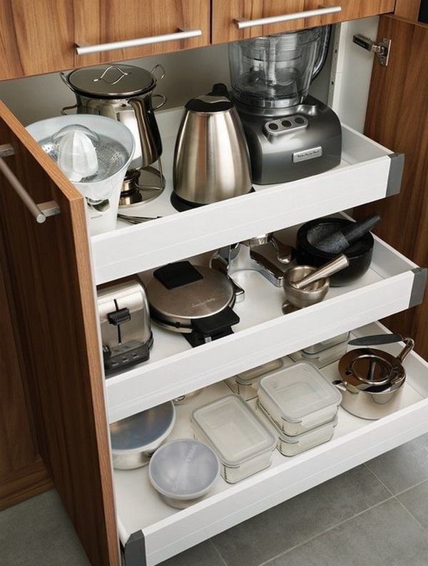 How to organize the small appliances in the kitchen (3)