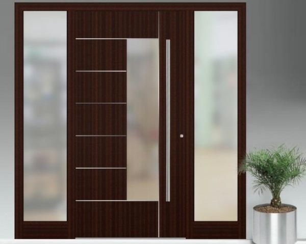 modern front doors a real eyecatcher