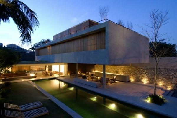 Architect ideas luxury cottage with pool