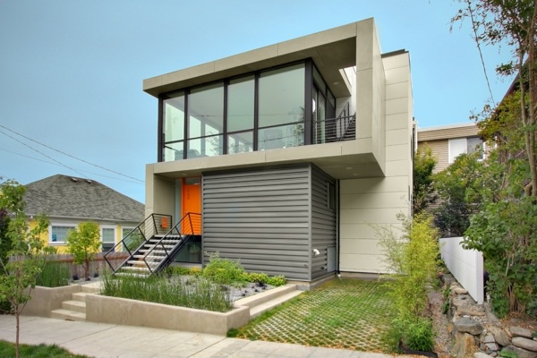 modern house doors gray beautiful house