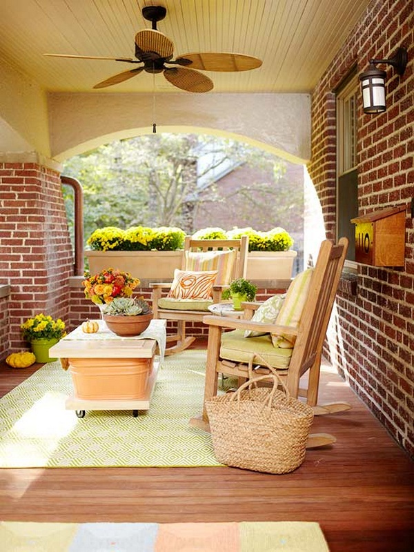 roofed wooden furniture floral wooden porch of small seating area switch