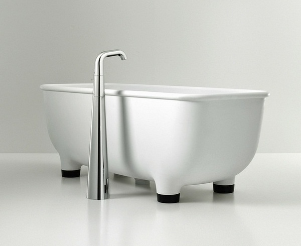 Bath detached fittings stainless Mischbaterie modern minimalist furniture