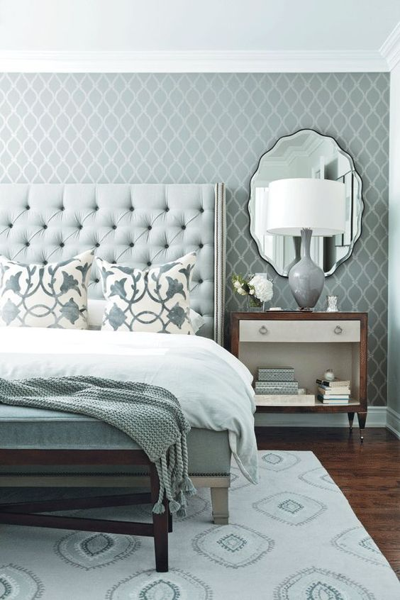 36 Chic And Timeless Tufted Headboards Decor10 Blog
