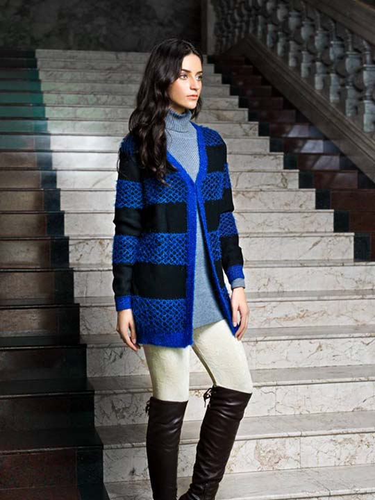 Simple Bonanza Sweater Collection for Women 2014-2015 07