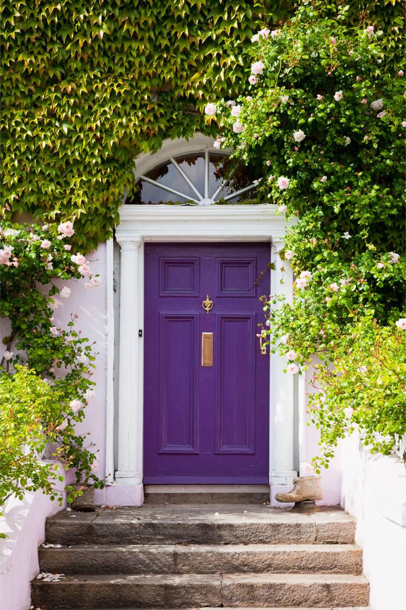 Choose The Best Color for Your Front Door! DesignRulz.com