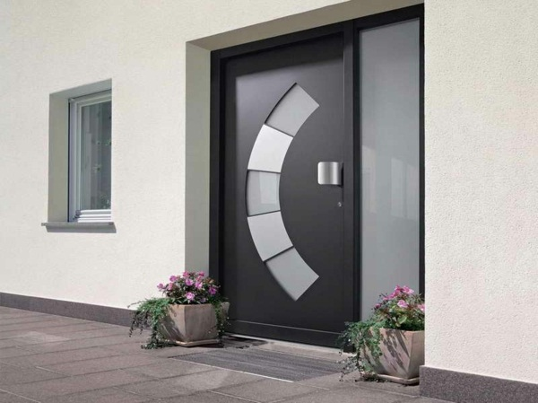 modern house doors flashy model