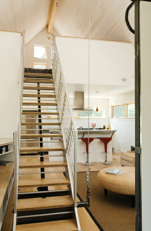 wonderful space saving stairs in the house