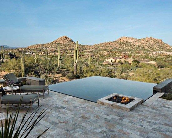 21 landscape tiny backyard infinity pool style tips decor10 blog - Small infinity pool ...