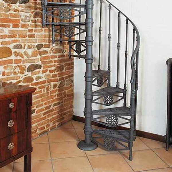 spiral staircase design space saving stairs