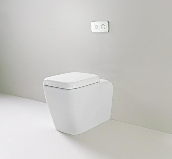 Plumbing form furniture deisgn toilet simple purist