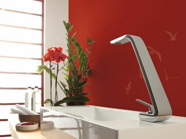 Fittings Stainless Steel LED lighting blue red color sinks