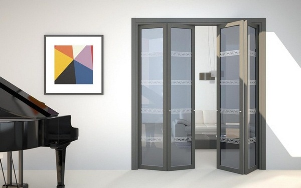 folding gray interior room dividers flat f1 foa design