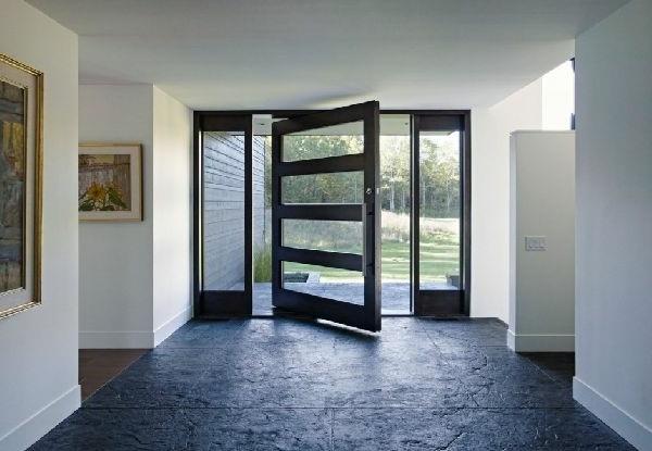 modern house doors sliding unique ambiance
