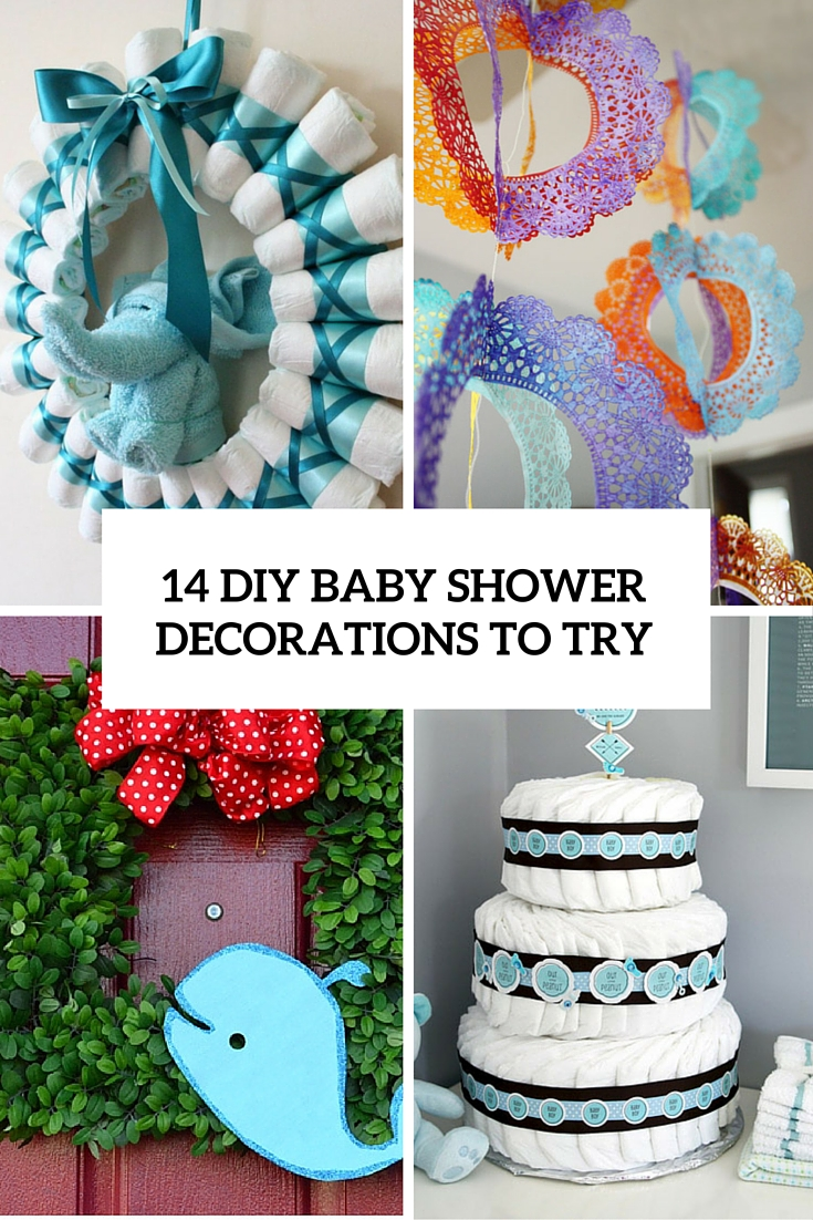 14 diy baby shower decorations to try cover