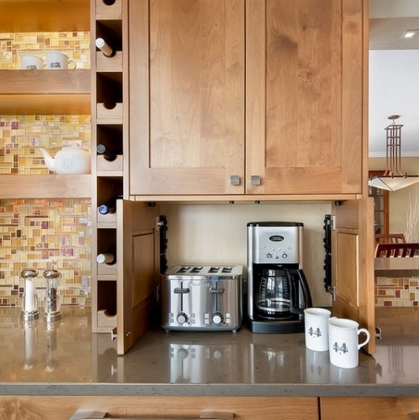 How To Organize The Modest Appliances In The Kitchen
