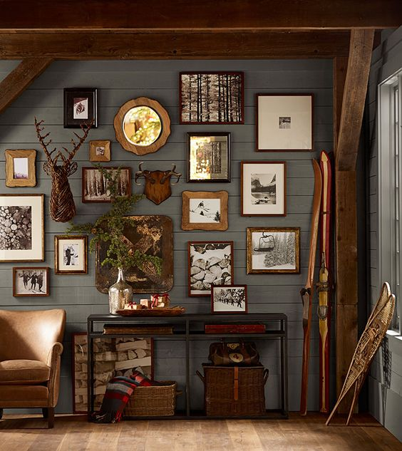 rustic antique frame gallery