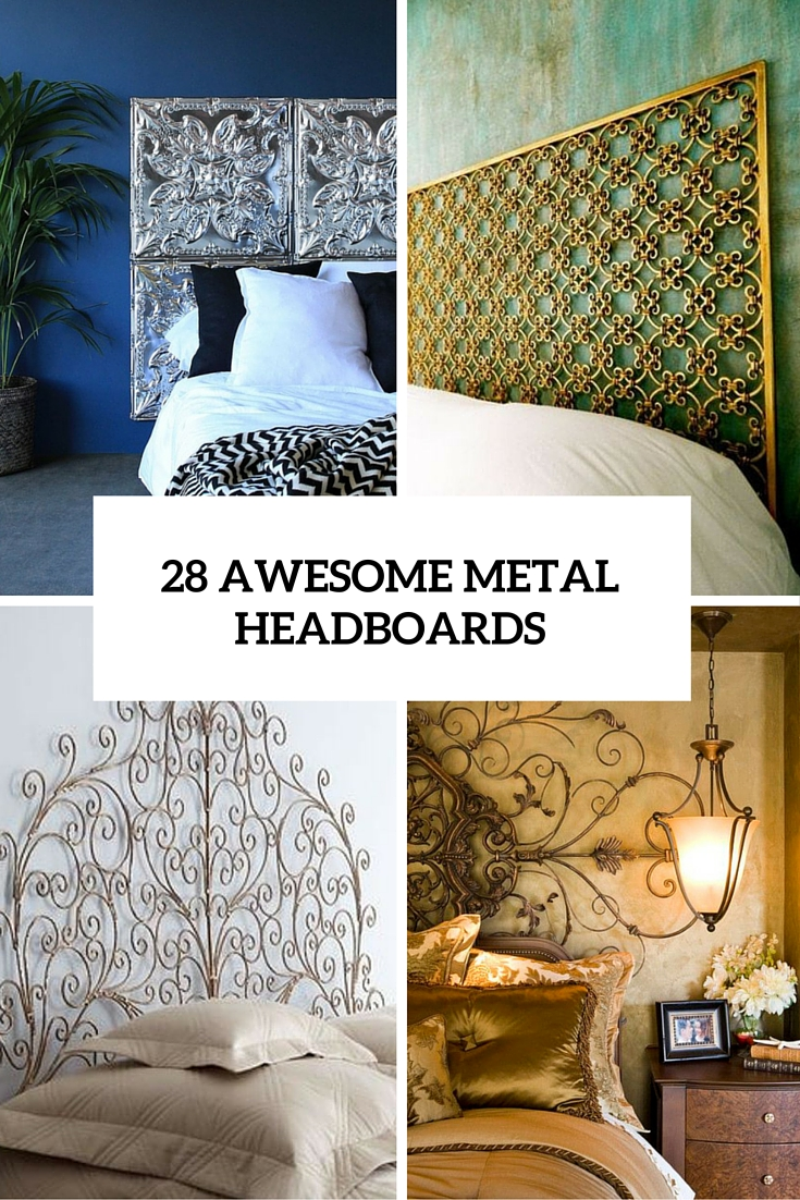 28 awesome metal headboards cover
