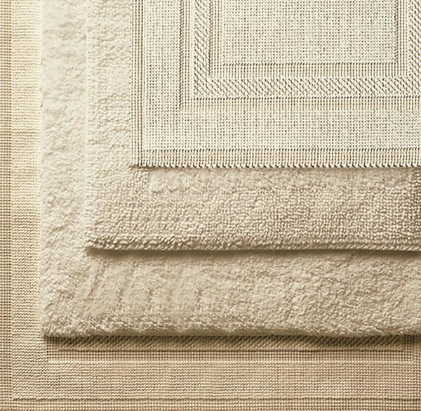 cotton bathmat interesting white décor