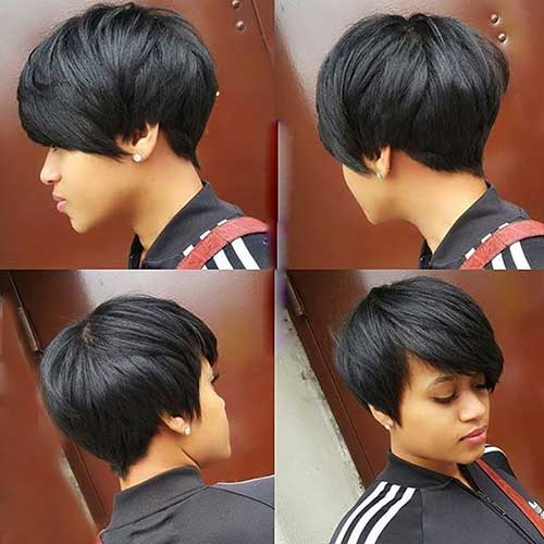 Casual And Easy Updos For Short Hair See More Http Glaminati