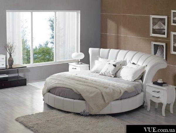 design of round bed