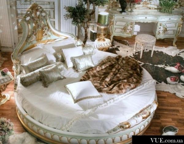 modern round bed design