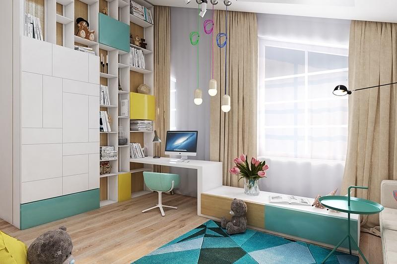 35 Colorful and Modern Kid's Bedroom Design Ideas DesignRulz.com