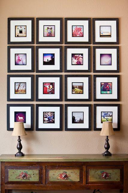 simple same size frames