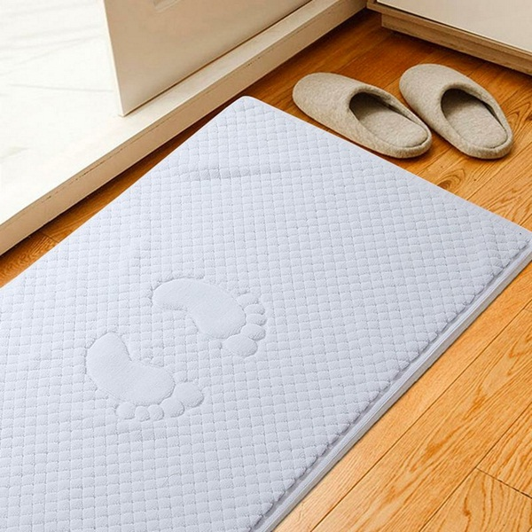 made of cotton bathmat beautiful picture from above