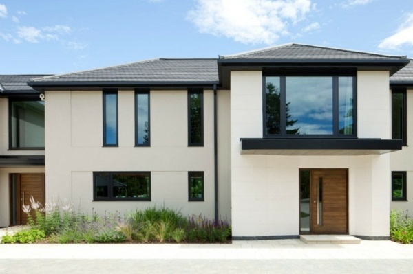 modern house doors white interiors