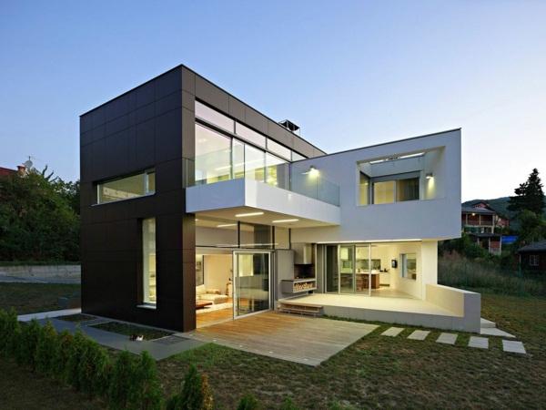 exterior design luxury villas with pool