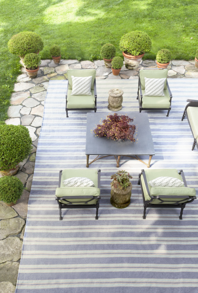 Indoor/Outdoor Clarence Rug from Dash & Albert Europe