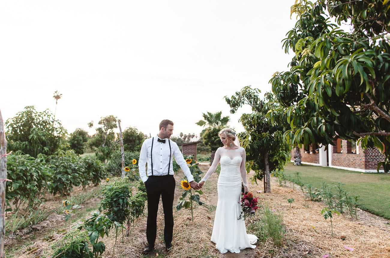 Desert Chic Mexico Wedding