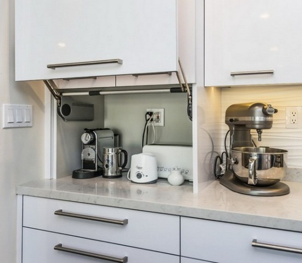 How to organize the small appliances in the kitchen (1)