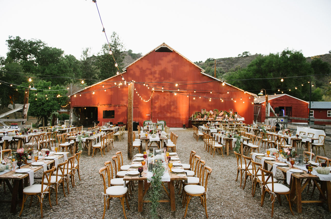 Fall Ojai Wedding