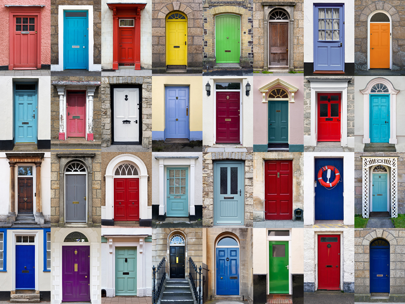 Perfect Choose The Best Color For Your Front Door!