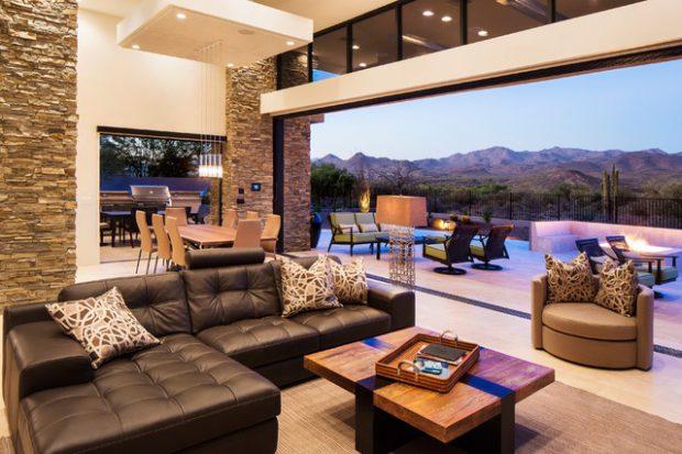 21 Beautiful Indoor- Outdoor Living Spaces - Decor10 Blog on Beautiful Outdoor Living Spaces id=44317