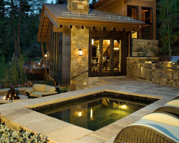 18 Stunning Decks and Patios Design Ideas with Hot Tubs