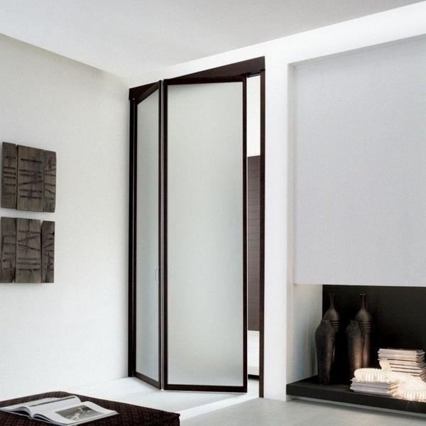 folding in reward unika adielle dark brown wall white modern minimalist