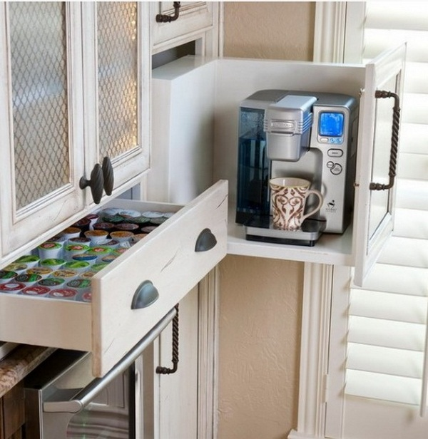 organize your kitchen appliances