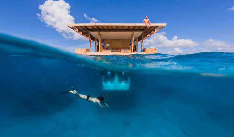 5 World's Most Amazing Underwater Hotels