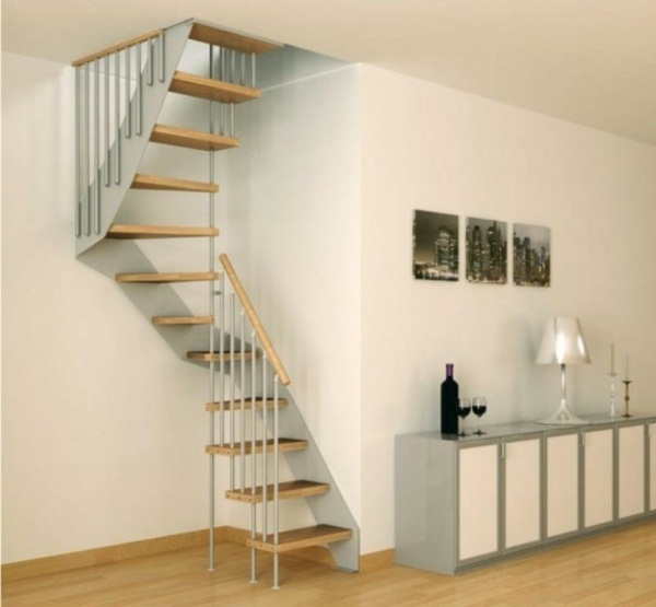 Stairs ideas small spaces