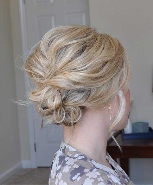Cute Hairstyles for Short Hair-16