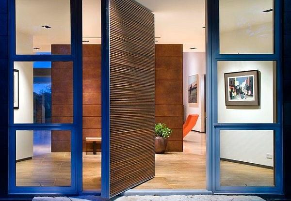 modern house doors interesting model