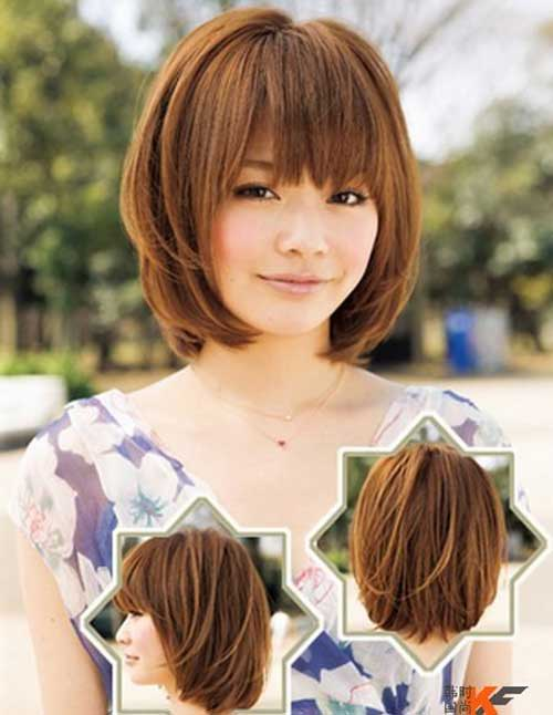 Short Haircuts with Bangs-13